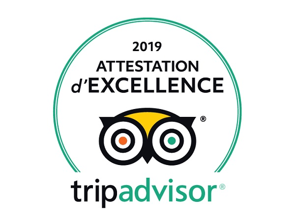 certification excellence tripadvisor saint-cyprien