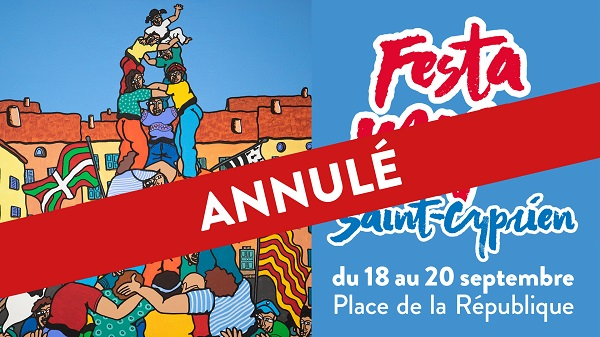 annulation de la festa major