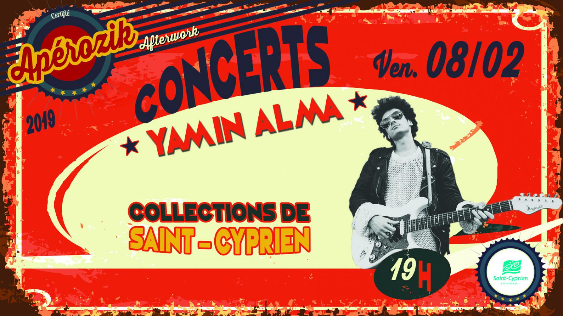 "APERO' ZIK CONCERT AFTER-WORK ""YAMIN ALMA"""