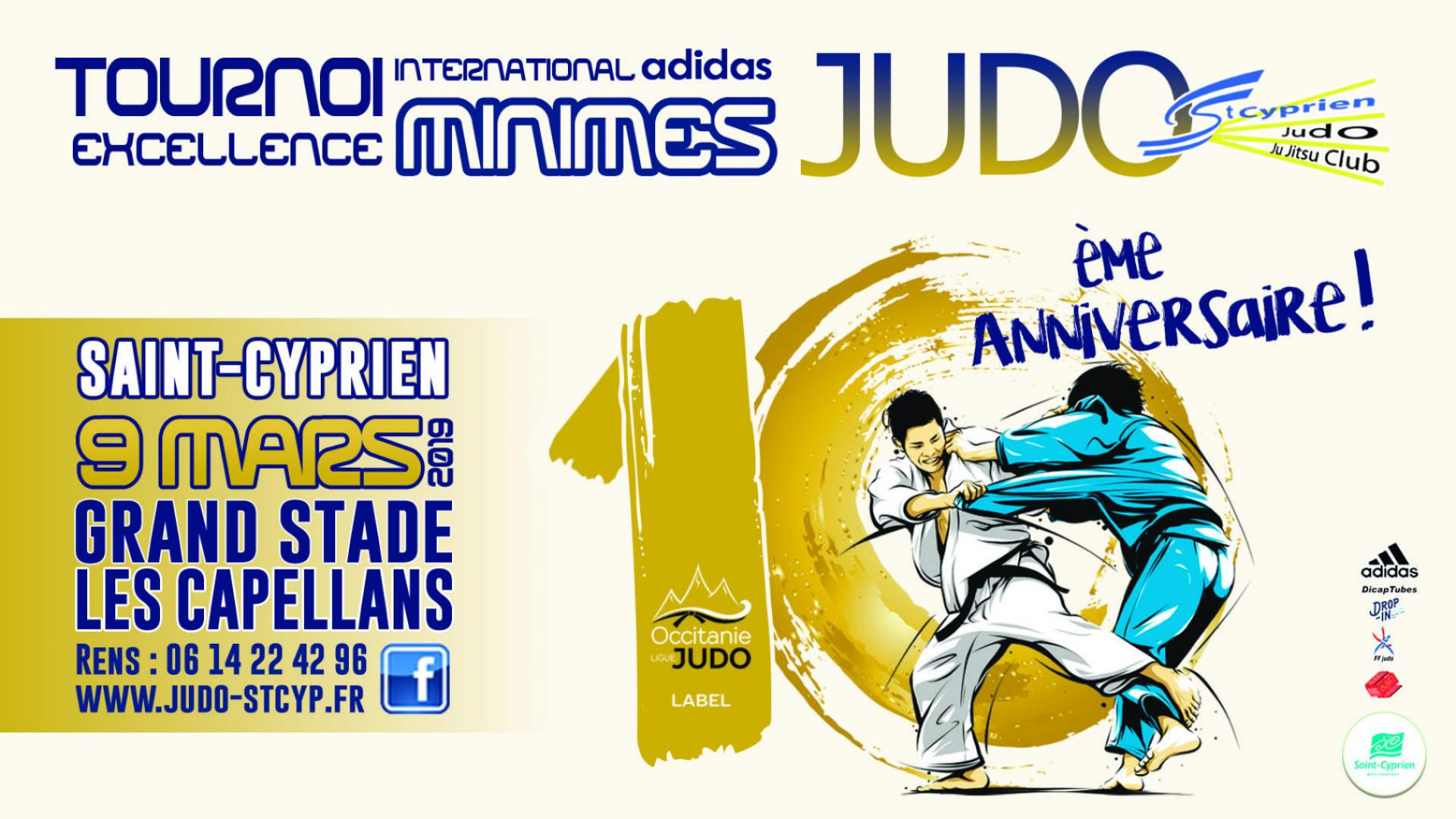 10EME TOURNOI INTERNATIONAL MINIMES DE JUDO