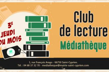 CLUB DE LECTURE A LA MEDIATHEQUE